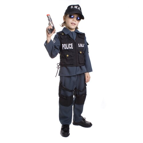 S.W.A.T Police Officer Children's Costume