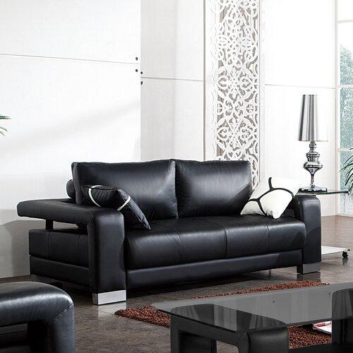 Contempo Leather Sofa