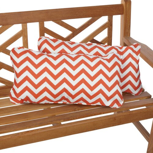 Stella Indoor/Outdoor Lumbar Pillow (Set of 2)