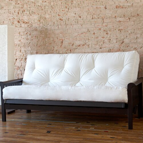 "Mozaic Company 8"" Cotton and Foam Futon Mattress"