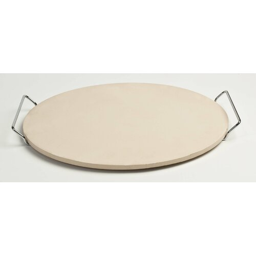 Round Pizza Stone with Wire Frame / 15
