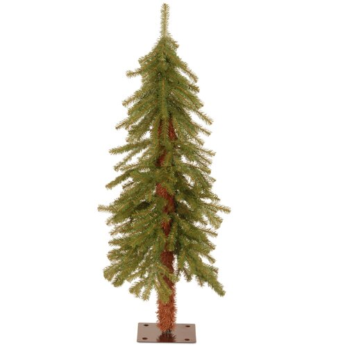 Hickory Cedar 3' Green Artificial Christmas Tree with Unlit