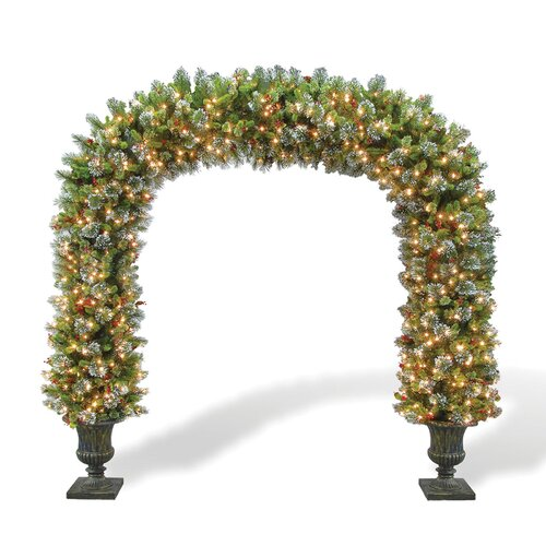 National Tree Co. Wintry Pine Pre-Lit 8.5' Archway