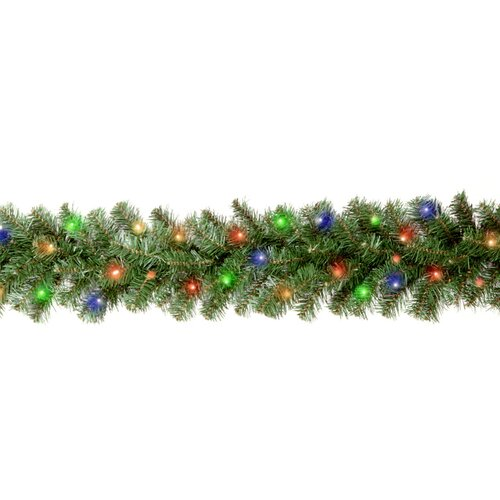 "National Tree Co. Kincaid Spruce Pre-Lit 9' x 10"" Garland"