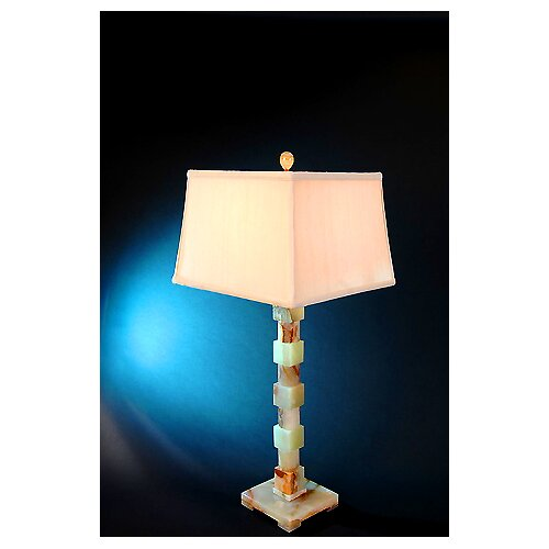"Lex Lighting Chartreuse 33"" H Piano Table Lamp"