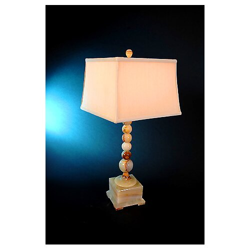 """Lex Lighting Chartreuse 31"""" H Box Base Piano Table Lamp"""