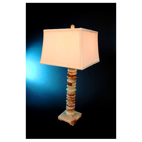 "Lex Lighting Chartreuse 32"" H Piano Table Lamp with 3-Way Switch"