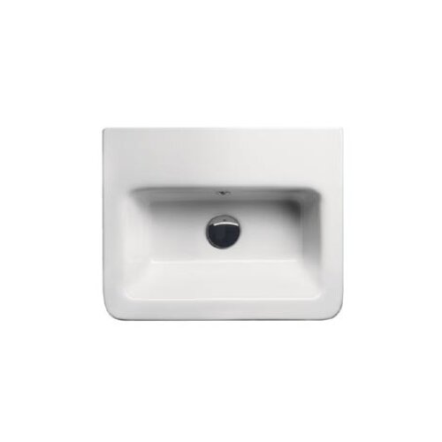 GSI Collection City Modern Rectangular Wall Hung or Self Rimming Bathroom Sink