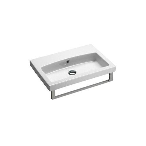 GSI Collection Losagna Rectangular Stylish Ceramic Bathroom Sink