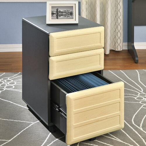 Altra Furniture Benjamin 3-Drawer Mobile  File Cabinet