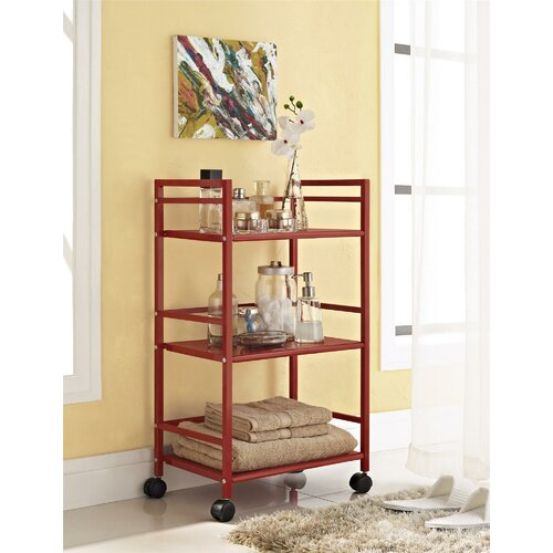 altra marshall three shelf rolling utility cart reviews. Black Bedroom Furniture Sets. Home Design Ideas