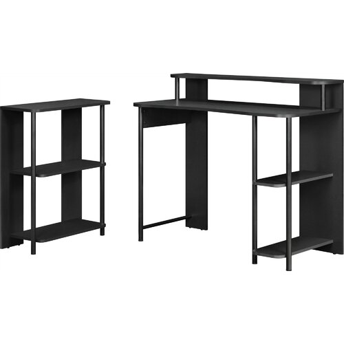 Altra Writing Desk with Bookcase