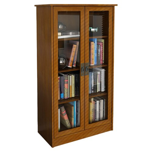 Altra Glass Door Bookcase Reviews Wayfair