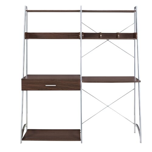 Altra Ladder Writing Desk with Bookcase Tower & Reviews | Wayfair
