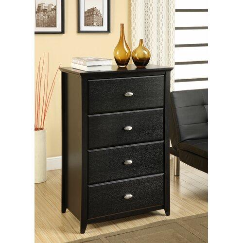 Altra Furniture Chelsea 4 Drawer Storage Chest