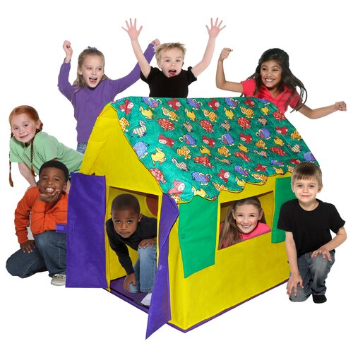 Bazoongi Kids Stuffed Animal Cottage Play Tent