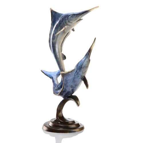 SPI Home Double Marlin Figurine