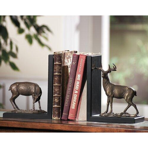 SPI Home Deer Book Ends