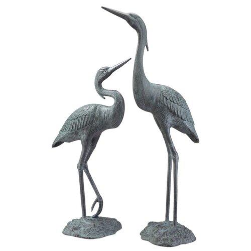 SPI Home Garden Heron Pair Statue amp Reviews Wayfair : Garden2BHeron2BPair2BStatue from www.wayfair.com size 500 x 500 jpeg 27kB