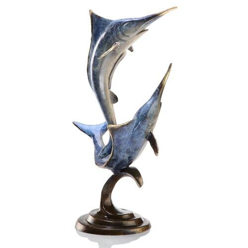 SPI Home Double Marlin Figurine