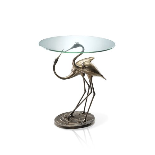 SPI Home Crane Courting End Table