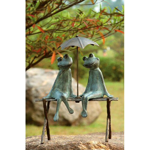 SPI Home Frog Lovers Garden Statue