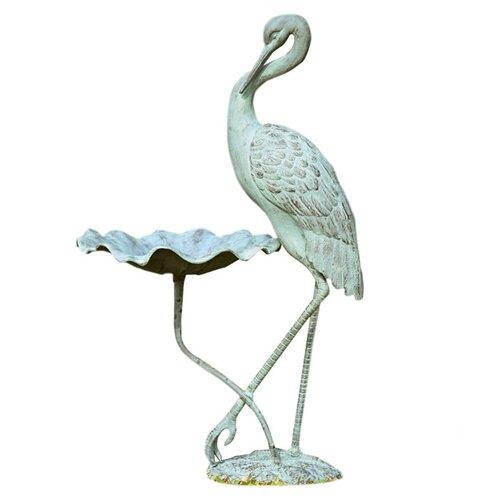 SPI Home Crane Birdbath
