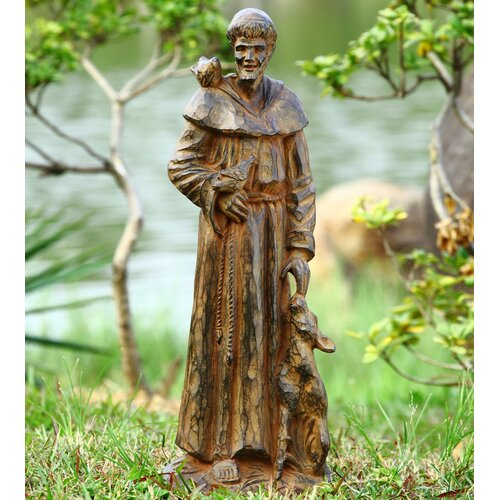 Saint Francis and Companions Garden Statue