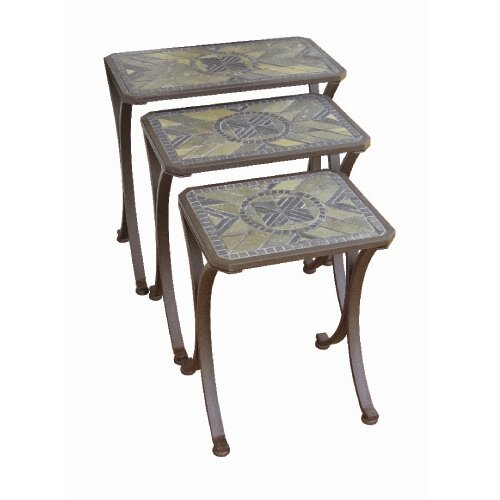 Paragon Casual Brookshire 3 Piece Nesting Tables