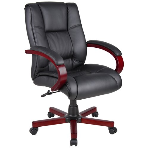 Boss Office Products Mid-Back Executive Chair