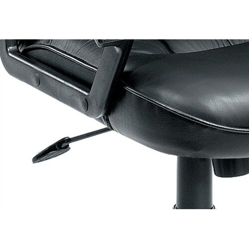 Boss Office Products Mid-Back Leather Ergonomic Managerial Chair