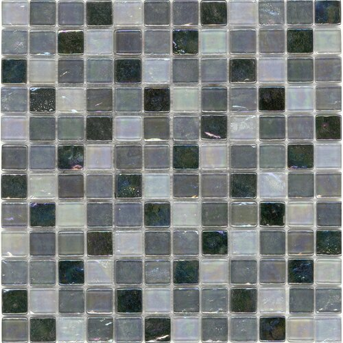 Surfaces Elida Glass Mosaic in Black Oil