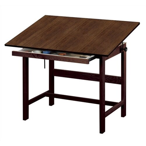 Alvin and Co. Titan Melamine Office Height Drafting Table