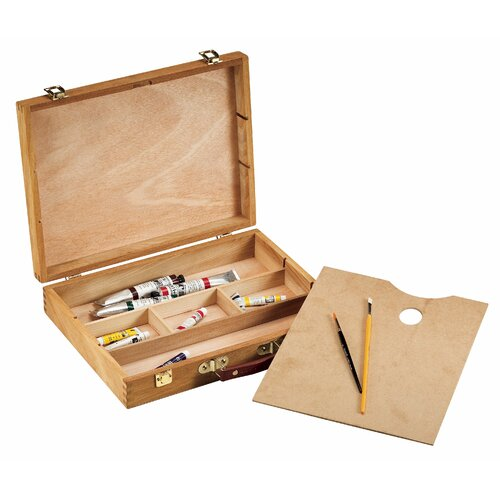 Alvin and Co. Wood Storage Box