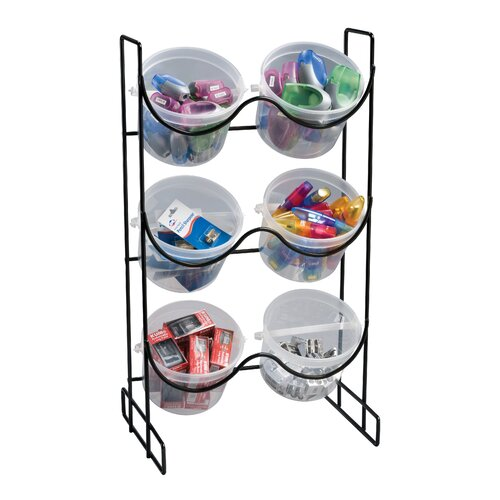 Alvin and Co. Wire Bucket Rack