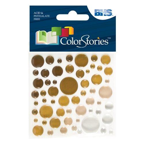 Alvin and Co. Colorstories Epoxy Color Spots Stickers