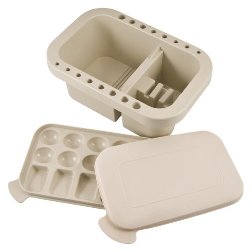 Alvin and Co. Brush Washer with Lid