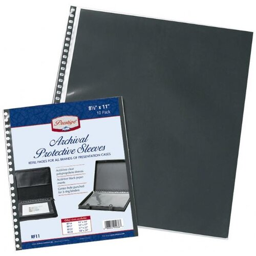 Alvin and Co. Archival Protective Sleeve Refill Pages
