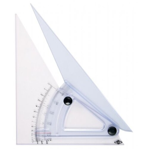 Alvin and Co. Computing Trig-Scale Adjustable Triangle