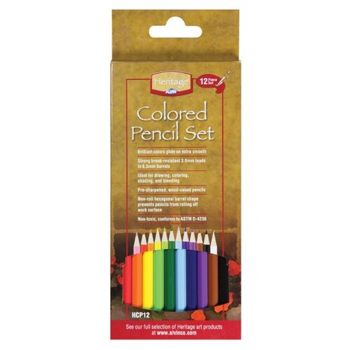 Alvin and Co. Colored Pencil Set (Pack of 12)