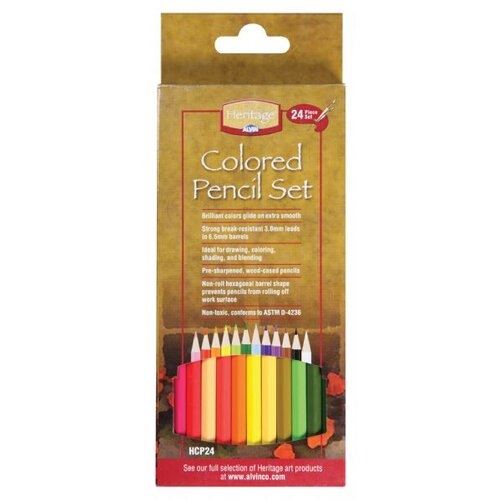 Alvin and Co. Colored Pencil Set (Pack of 24)