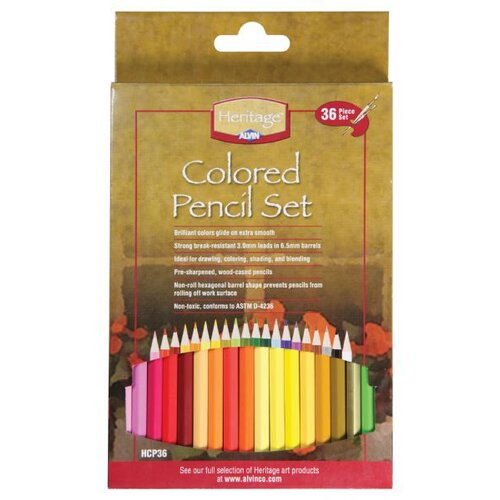 Colored Pencil Set (Pack of 36)