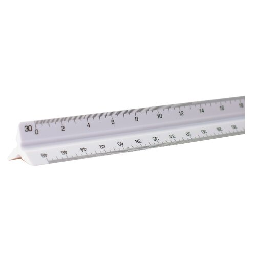 Alvin and Co. High Impact Engineer Triangular Scale