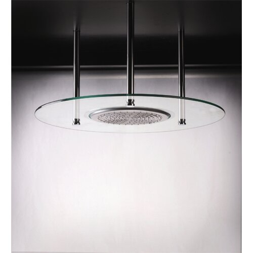 BLVD Products Domani Round Glass Shower Head