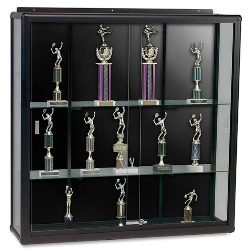 Best-Rite® Series 90 Elite Wall Mount Display Case