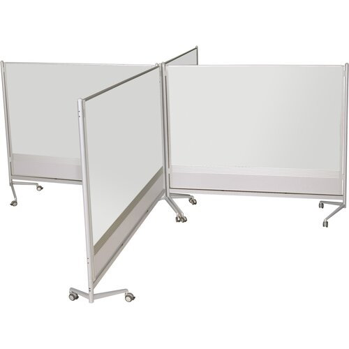 Best-Rite® D.O.C. Partition Dura-Rite 6' x 8' Whiteboard