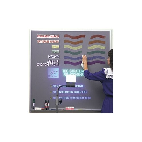 "Best-Rite® Lightning Board - Aluminum Trim 2' 9.75"" x 4'"