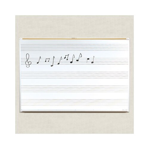 Best-Rite® Porcelain Lifetime Music Board