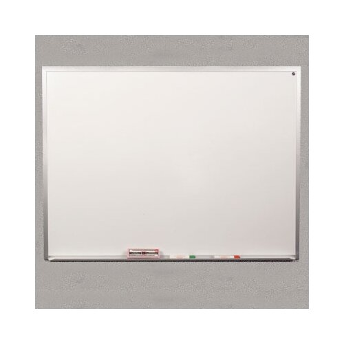 "Best-Rite® Slim Frame Series 1' 6"" x 2' Whiteboard"