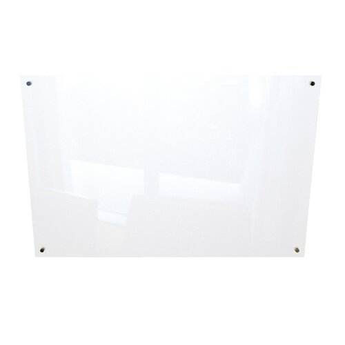 Best-Rite® Enlighten 4x6 Non-Magnetic Glass Board